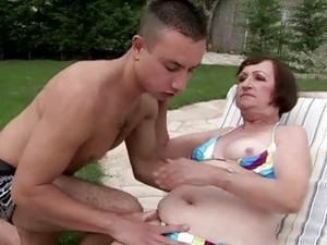Ugly Granny Having Sex With Young Boy
