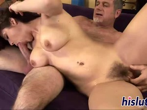 Two Raunchy Lezzies Have Some Bedroom Fun