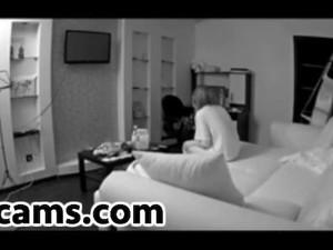 Spycam Blowjob Fucking Riding Coupl