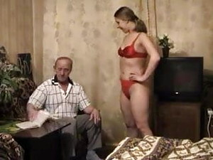HYE Daddy Persuades Her To Fuck Him Twice !