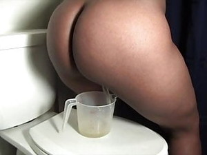 Pissing In A Jug And Farting