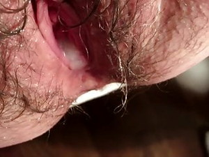 Closeup POV Of My Wife's Sex Hole Taking A Cumshot