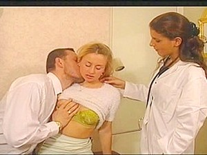 Oceane And Ian Scott At The Doctor
