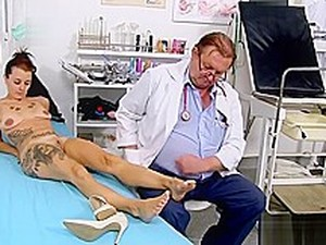 Tattoo Doctor Fetish With Cumshot