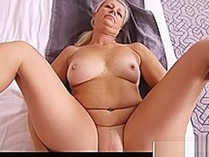Big Tits Fake Mother Juliane Gives Blowjob Cool Hot Stepson