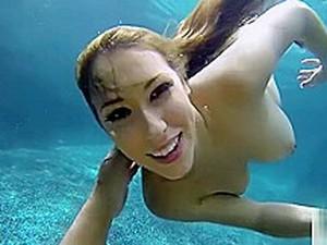 Kimber Lee Underwater Gropecam