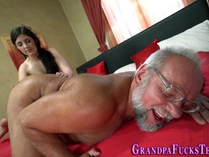 Teen Jerks Old Mans Cock