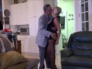 Kissing Prank Grandpa Edition