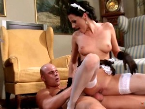 Dirty Maid Fucks The Boss For Some Extra Cash