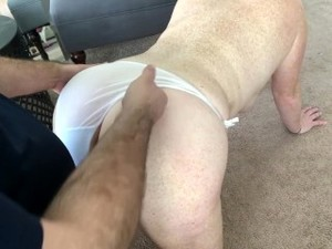 Big Tits Freckled Redhead Sucks And Fucks Until Cum On Her White Panties