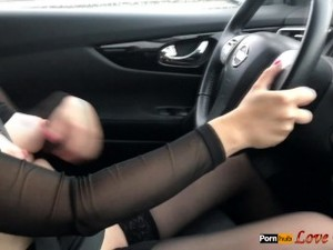 Masturbation In The Car While Driving
