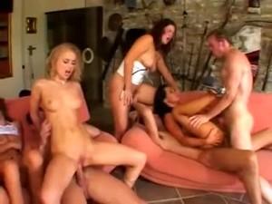 Dora Venter & Sandra In Greatest Orgy - Good Times