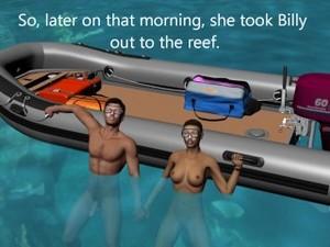 Underwater Sex Cartoon: Teacher01
