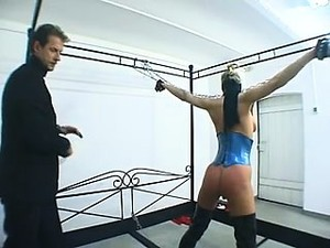 Two Kinky Bondage Fetishists Indulge In A Frenzy Of Pleasure And Pain