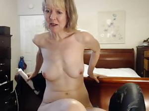 Mature Aunt Jamie Foster Cum  On Cam