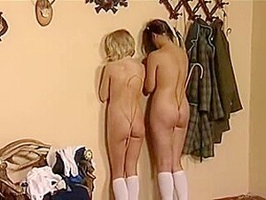 Russian Teen Lesbians, Spanked, Caned, Strapped, Figged, Soaped And Enema