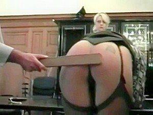 Two Employees Spanked