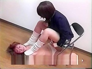 Lesbian Sock Smother 2