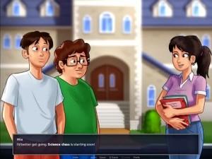 Summertime Saga-0-19-0-pc Part 1 By MissKitty2K Gameplay