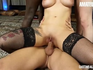 AmateurEuro - Amateur Italian Babes Drilled Hardcore At Ganbang
