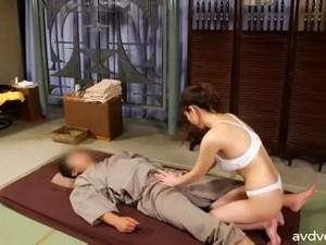 Japanese Sauna Lady Pt9