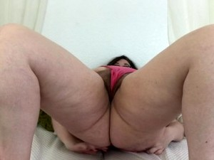 Sexy Busty BBW Stepmom Catches You Jerking Off In Her Panties And Loves It