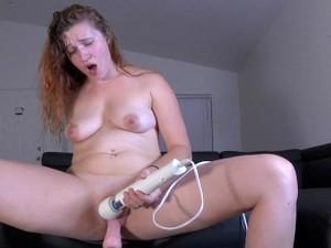 Creamy Squirting Fucking Machine Orgasm