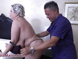 Huge Tit Whore Massaged Then Fucked Hard