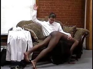 Ebony Girl Spanking