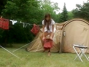 Russian School Girls Camping Diaries