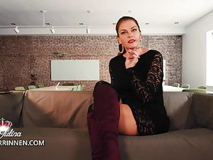 Office Mistress: Slave Spoils It And Gets Nipple Punishment