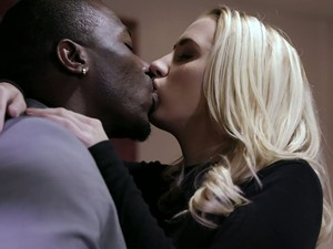 Ardent Blonde Hottie Sierra Nicole Is Busy With Riding Massive Black Cock