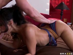 Busty Hot Pornstar Katsuni Sucks Dick Like A Wild Animal