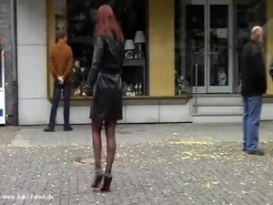 Lady Pantera - Latex, Leather, Corset & High Heels - 132