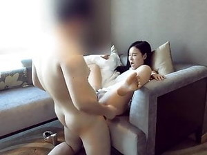 Chinese Couple Hotel Staycation