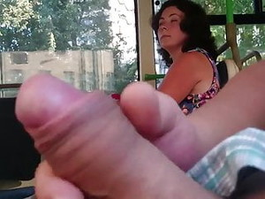 Flashing Dick In The Bus