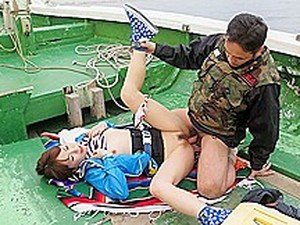 Nonoka Kaede In Nonoka Kaede Is Fucked On A Boat After Fishing Contest - JapanHDV