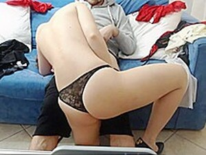 Italian Blowjob Cuckold Humiliation
