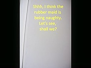 A Day With A Rubber Maid
