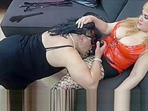 FemDom Session: Training And Humiliation Of A Sissy