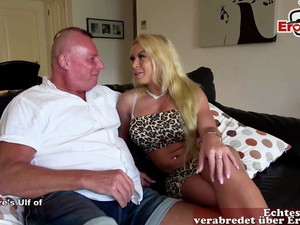 German Fitness Teen Picks Up Guy BB Ulf And He Cant Fuck Her Ass Funny Fail Story