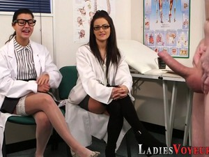 Kinky Nurses Mock Loser
