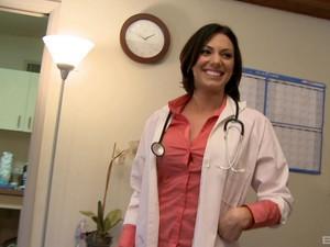 Attractive Doctor Juelz Ventura Gets Her First Ever Big Black Dick
