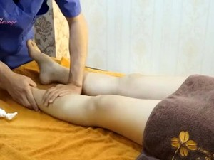 Traditional Massage In The Bedroom - How To Do Thigh, Leg, Ankle And Foot
