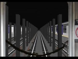 OpenBVE: R32 RFW R Shuttle Train