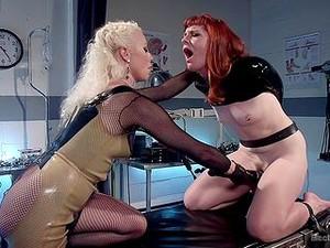 Crazy Lesbian Fetish Scenes In Full Dominance