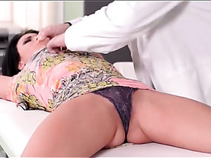 Kinky MD Ties His Patient And Plays With Her Body