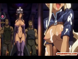 Ghetto Hentai Brutally Drilled And Cumshot On All Body!