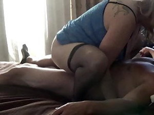 WIFE TAKES HARD WHITE COCK ON VACATION