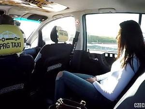 Czech Taxi Vanessa